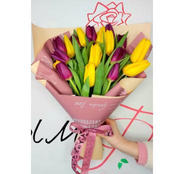 Букет из тюльпанов №16