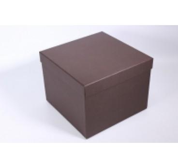 Коробки Квадрат Коричневый 24*24*18 см