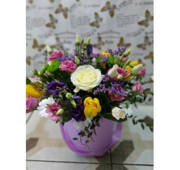 Коробка с цветами №15