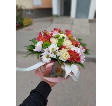 Коробка с цветами №13