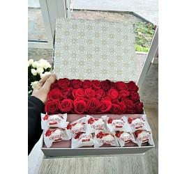 Коробка с цветами №4