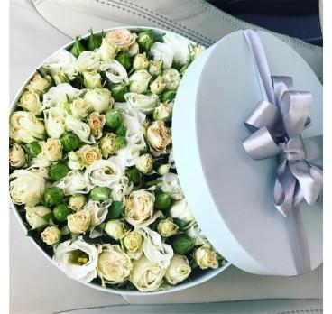 Коробка с цветами №1