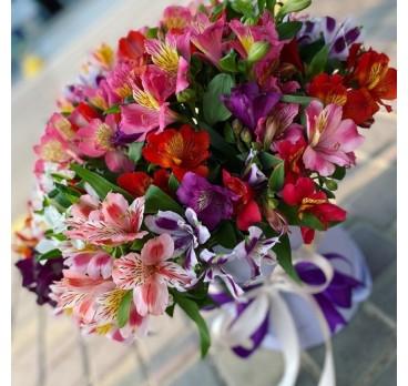Коробка с цветами №17