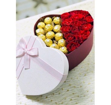 Коробка с цветами №32