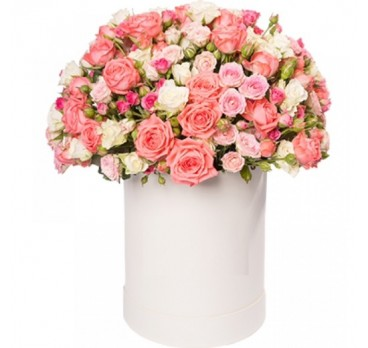 Коробка с цветами №27