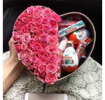 Коробка с цветами №22