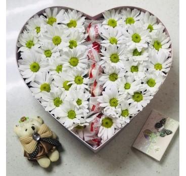 Коробка с цветами №16