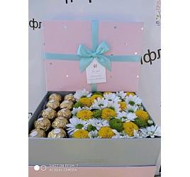 Коробка с цветами №5
