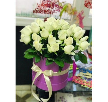 Коробка с цветами №30