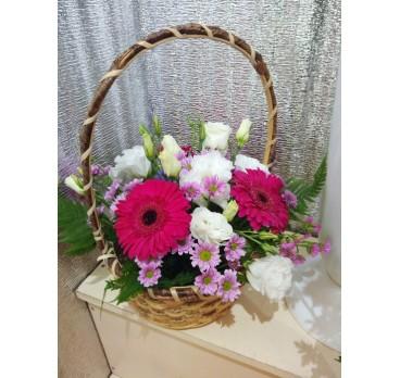 Коробка с цветами №6