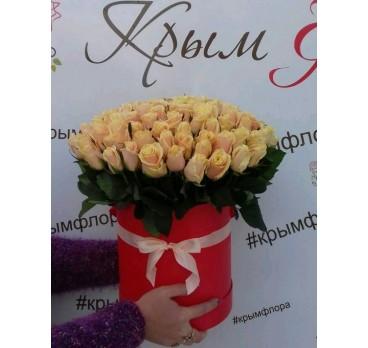 Коробка с цветами №25