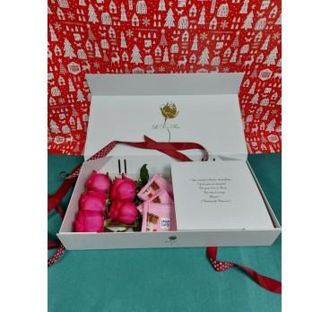 Коробка с цветами №14