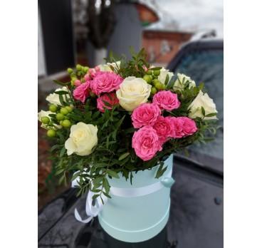 Коробка с цветами №18