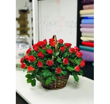 Коробка с цветами №31