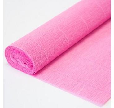 Бумага Гофрированная Розовый