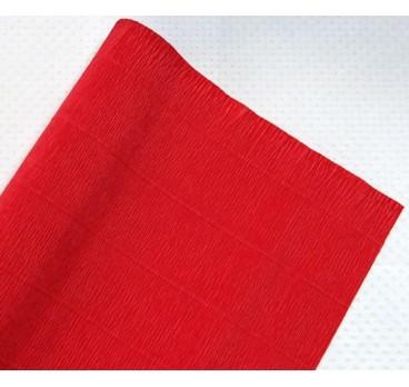 Бумага Гофрированная Красный