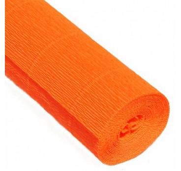 Бумага Гофрированная Оранжевый