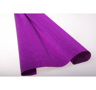 Бумага Гофрированная Фиолетовый