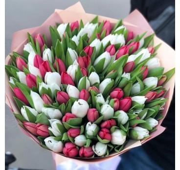 Букет из тюльпанов №3