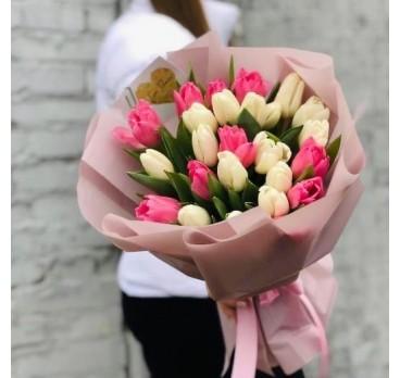 Букет из тюльпанов №8