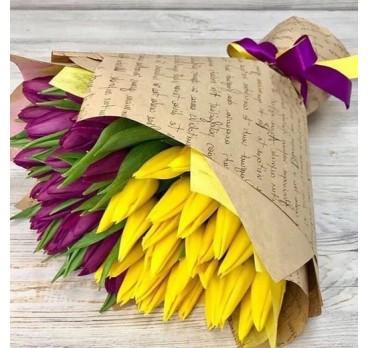 Букет из тюльпанов №4