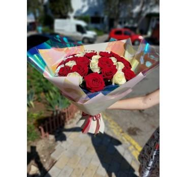 Букет из крымских роз №35