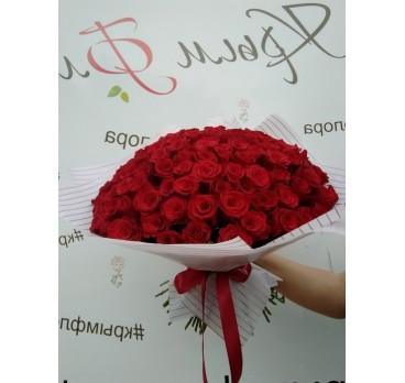 Букет из крымских роз №30