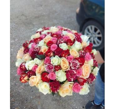 Букет из крымских роз №23
