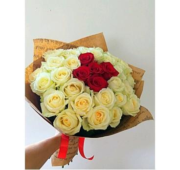 Букет из крымских роз №7