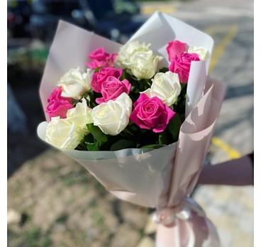 Букет из крымских роз №38