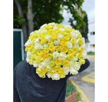 Букет из крымских роз №40