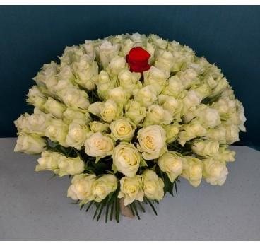 Букет из крымских роз №33