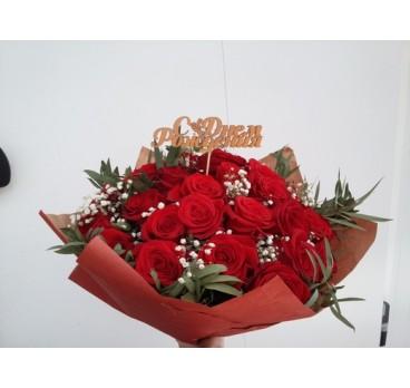 Букет из крымских роз №27