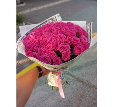 Букет из крымских роз №31