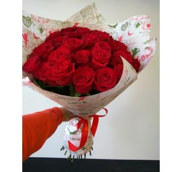 Букет из крымских роз №11