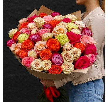 Букет из импортных роз №1
