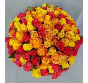 Букет из крымских роз №9