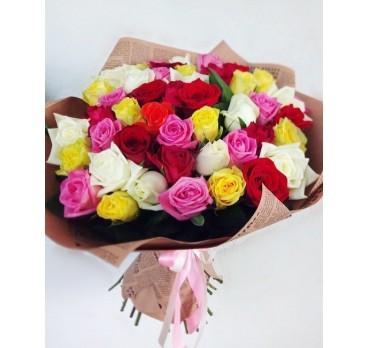 Букет из крымских роз №18