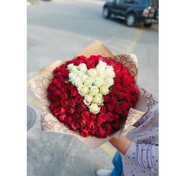 Букет из крымских роз №34