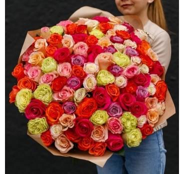Букет из импортных роз №2