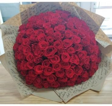 Букет из крымских роз №17