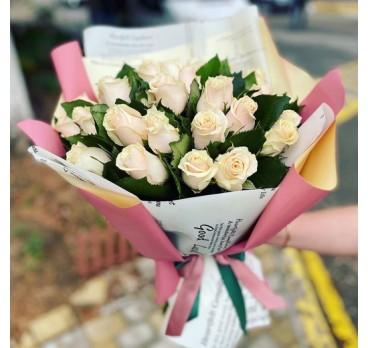 Букет из крымских роз №39