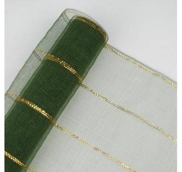 Сетка Люрекс Зелёная