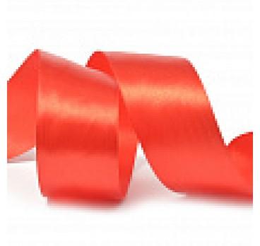 Лента Атласная 4 см Красный 28 м