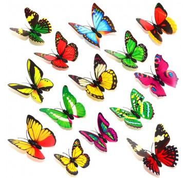Бабочки На Магните 5 см 10 шт
