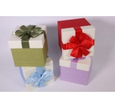 Коробка Куб в ассортименте 11*11*11 см