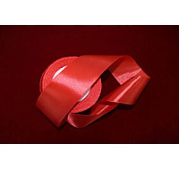 Лента Атласная Ярко Красная