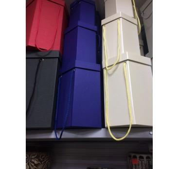 Коробка Ромб из 5 шт Синий