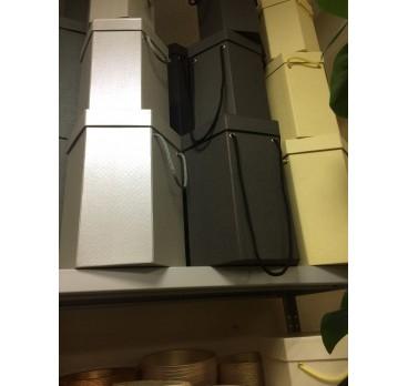 Коробка Ромб из 5 шт Черный
