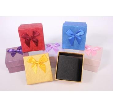Коробка Квадрат в ассортименте 8*8*5 см